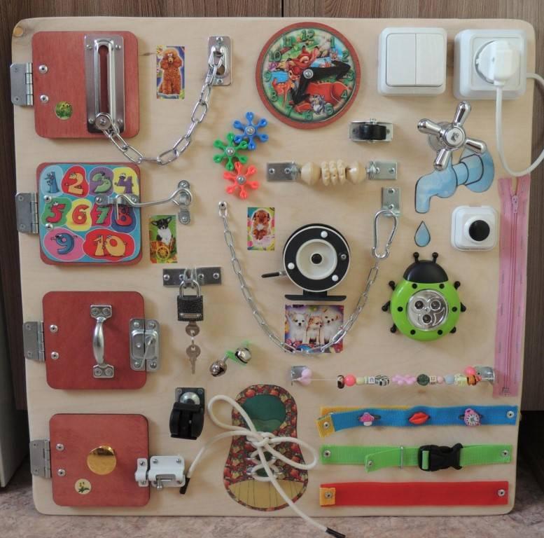 Делаем развивающие игрушки для малышей своими руками
