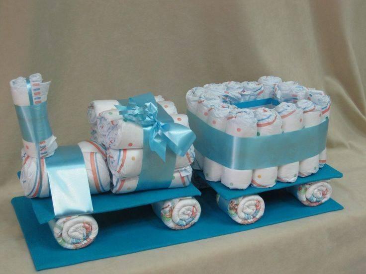 """Подарок из памперсов для мальчика """"бегемот на велосипеде"""". мастер-класс.   страна мастеров"""