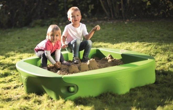 Детское счастье своими руками: песочницы (90+ фото идей)