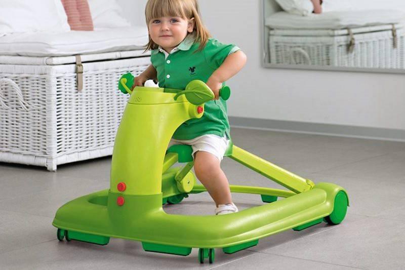 С какого возраста используют прыгунки для детей