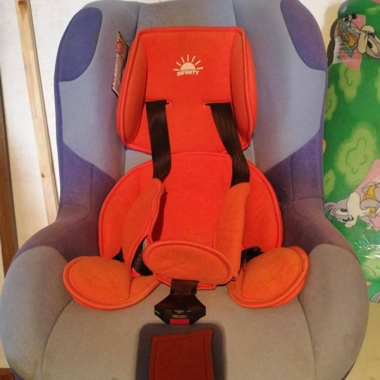 Как пристегнуть кресло инфинити