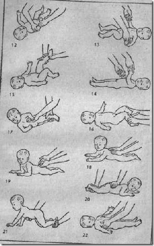 Как научить ребёнка переворачиваться со спины на живот? - глазастик