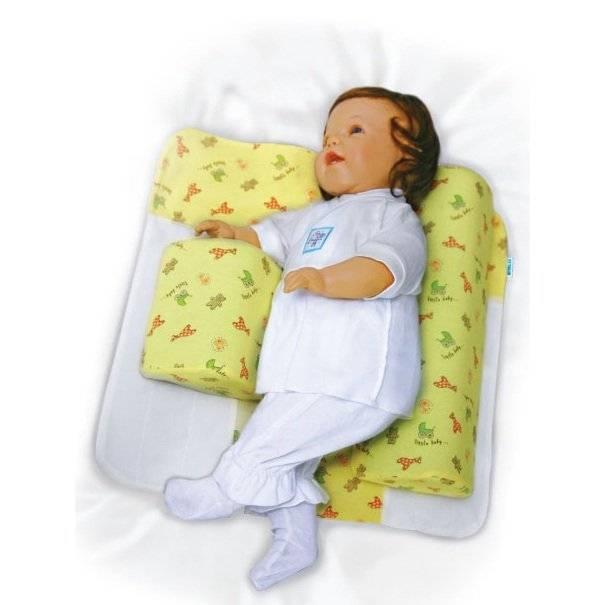Ортопедические подушки и воротники от кривошеи у новорожденных