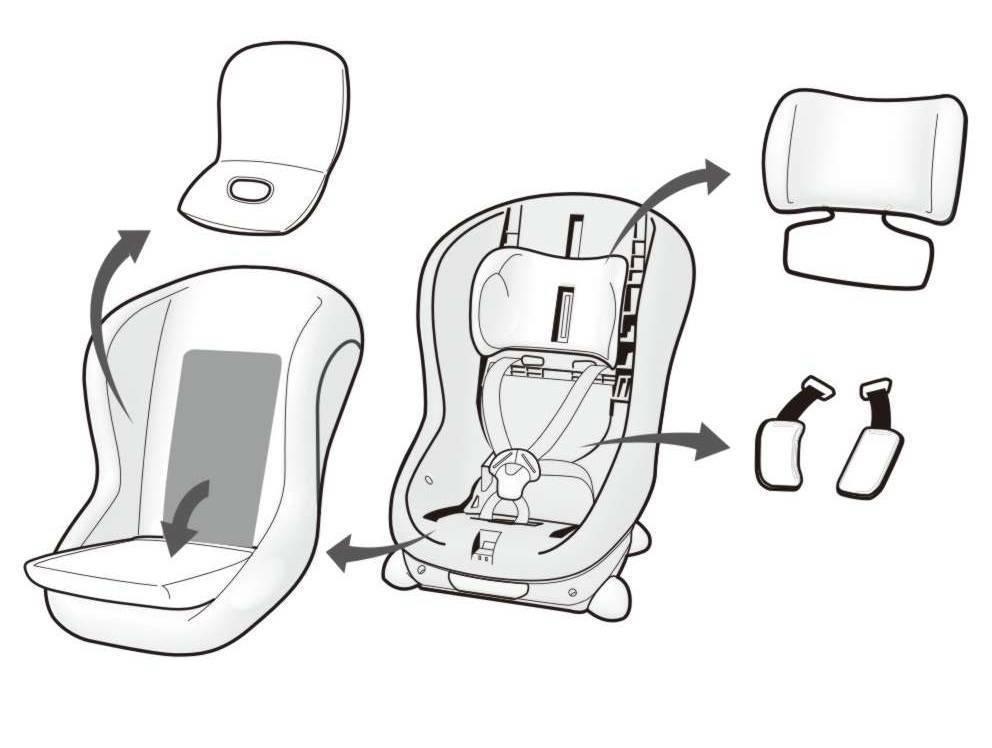 Как собрать ремни на детском автокресле   авто брянск