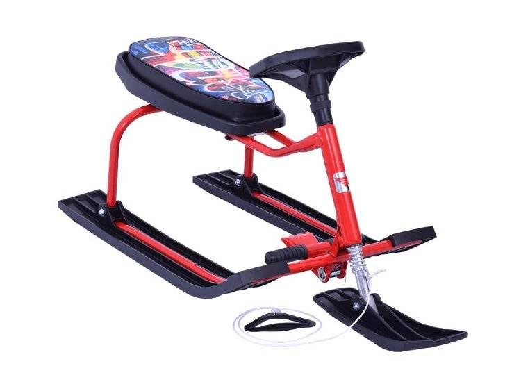 7 лучших санок-колясок для детей