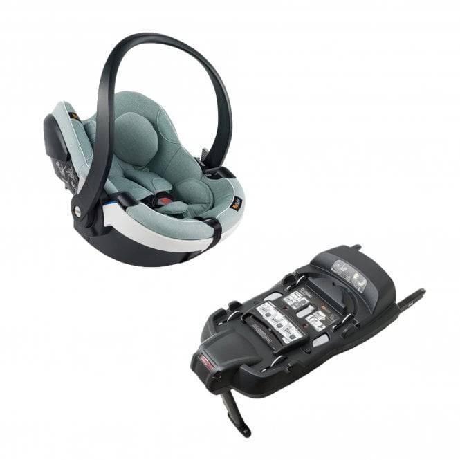 Besafe izi go modular x1 i-size - инновационное детское автокресло