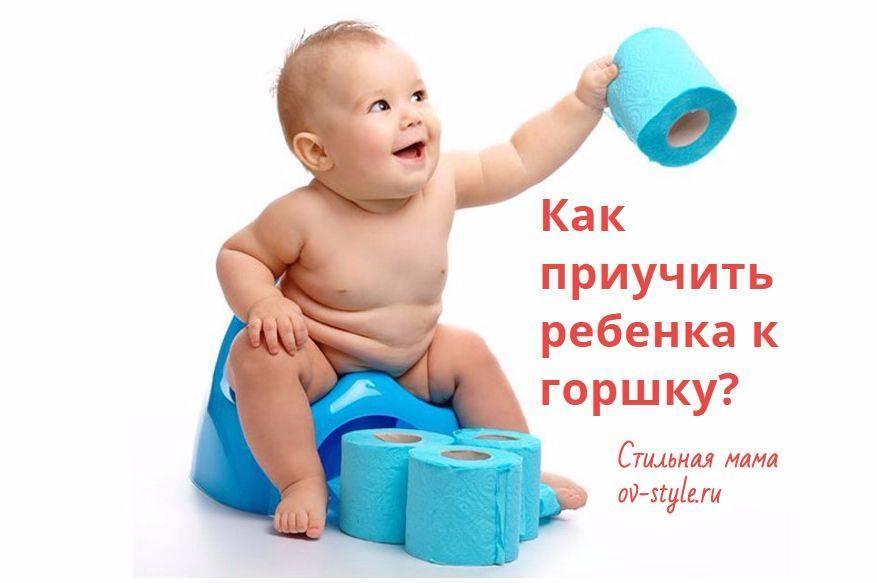 Как приучить ребёнка к горшку легко и без нервов | изюминки