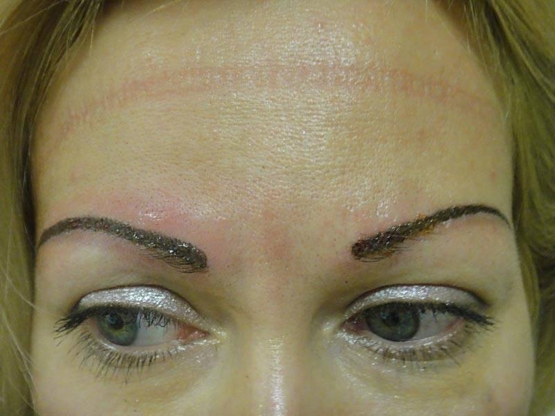 О перманентном макияже бровей: противопоказания, делать ли при беременности