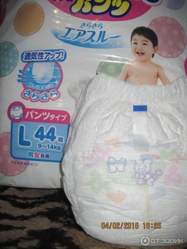 Японские подгузники: характеристика и виды продукции