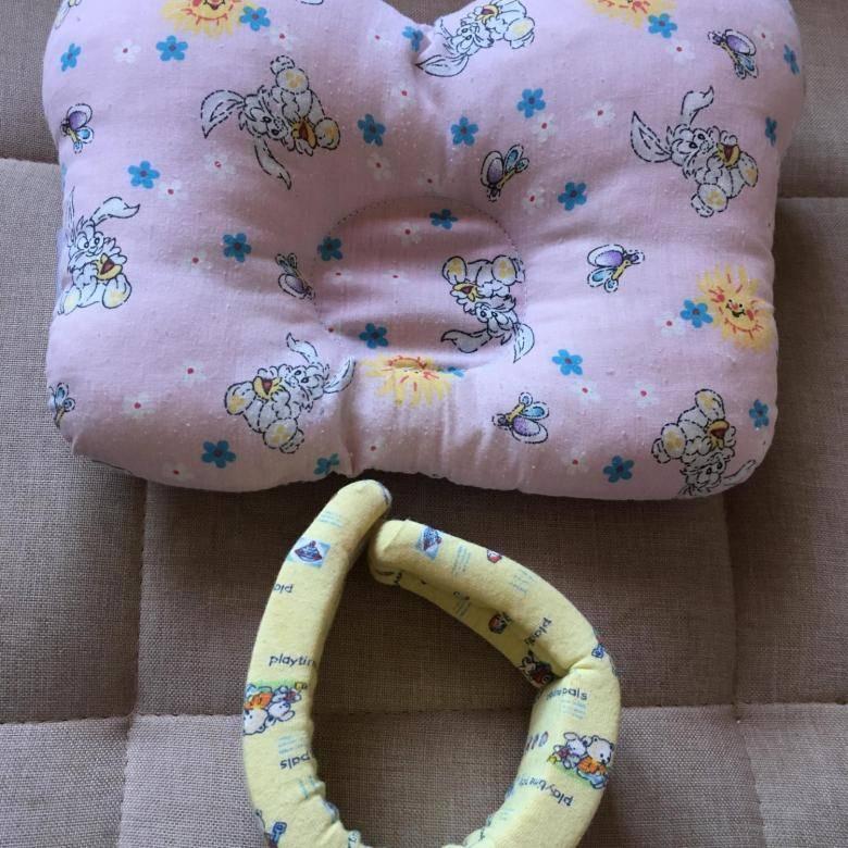 Ортопедическая подушка для новорожденных при кривошее - применение, выбор, польза!
