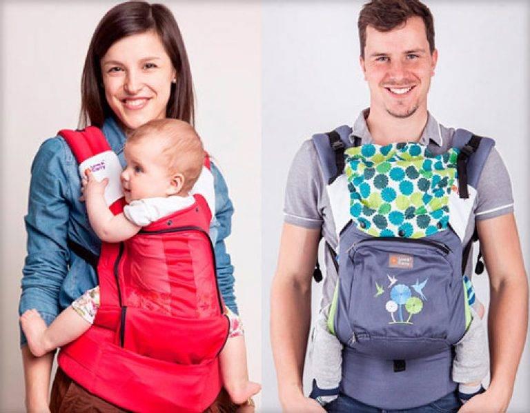 Как выбрать кенгуру для ребенка: с какого возраста можно носить и инструкция по применению