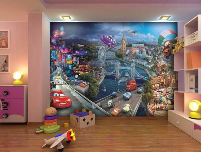 Детство — красочное и веселое: фото детских 3д обоев на стену, подобранных по полу и возрасту. фотообои для девочек в детскую комнату