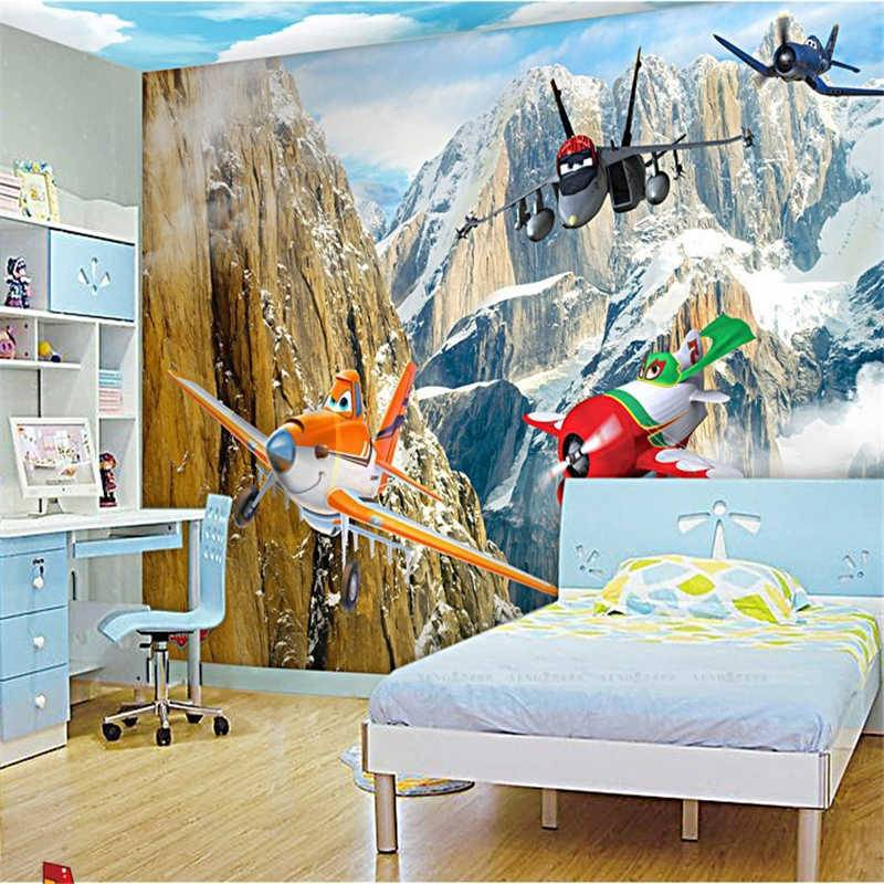Обои в детскую комнату для мальчиков - идеи и реальные примеры (20 фото)
