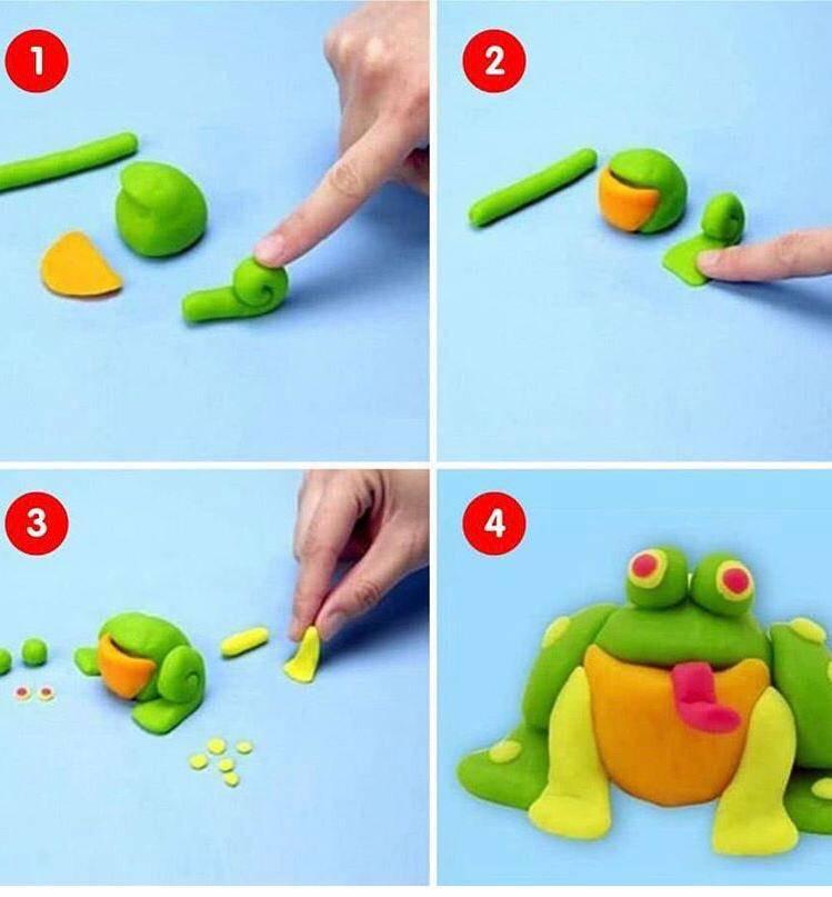 Поделки из пластилина: поэтапная инструкция как и какие лучше всего делать пластилиновые поделки (150 фото)