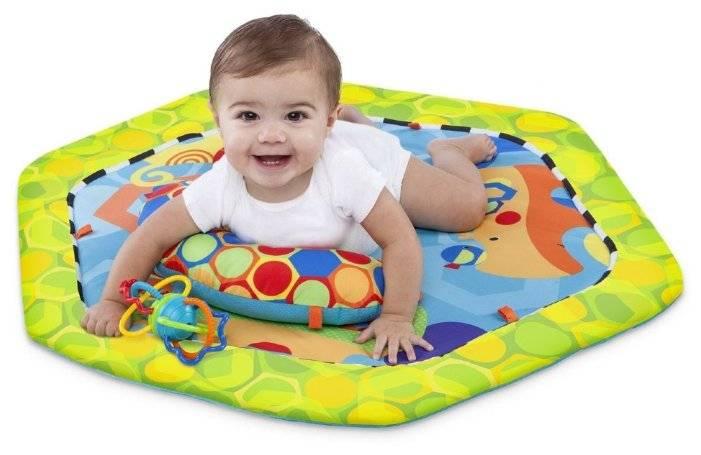 Детский коврик — его виды по назначению и возрасту, выбор