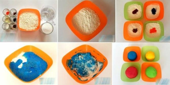 Как сделать пластилин в домашних условиях?