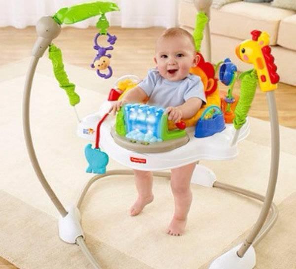 С какого возраста можно сажать ребенка в ходунки