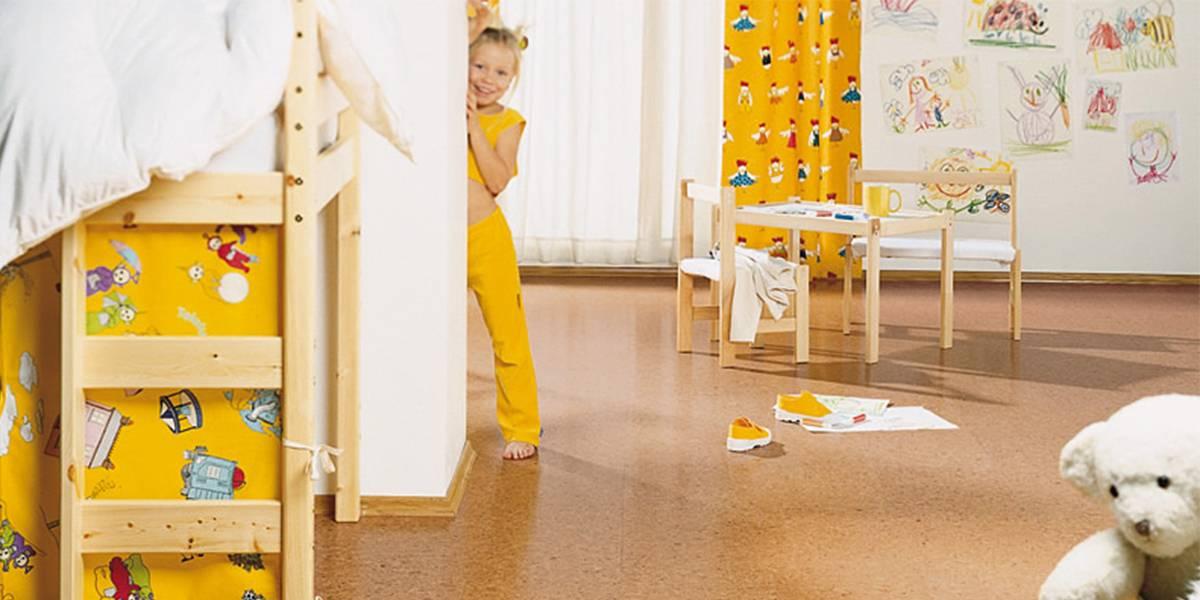 Пол в детской комнате — сравнительный обзор с фото примерами дизайна
