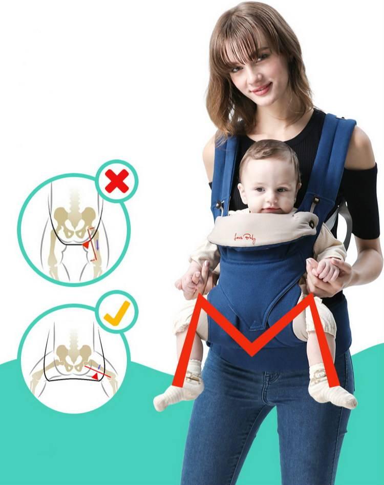 Как самой сделать кенгуру для ребенка. переноска-кенгуру: когда можно носить в ней малыша и как делать это правильно.