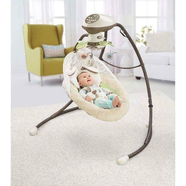 Электронные качели для новорожденных: выбор лучшего изделия