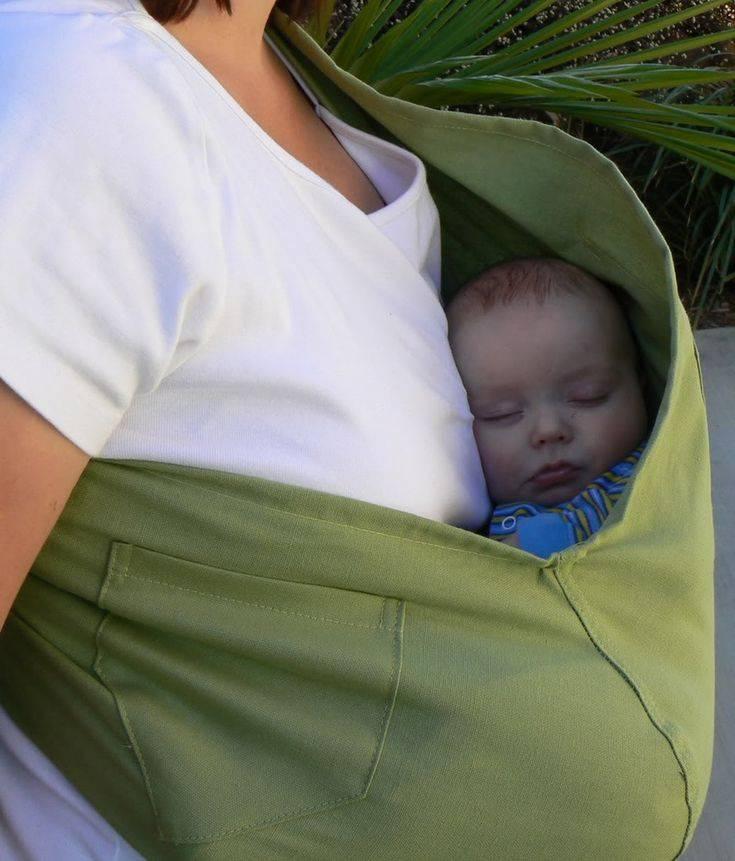 Слинг своими руками для новорожденного | мама супер!