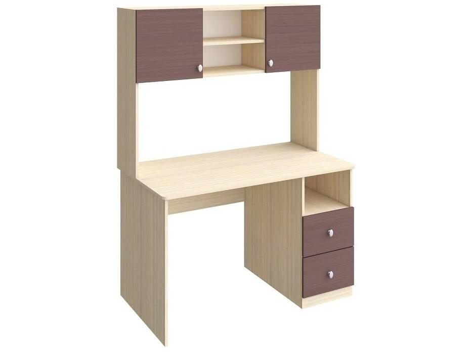 Письменный стол для школьника с надстройкой (28 фото): модель с уголком и шкафчиками