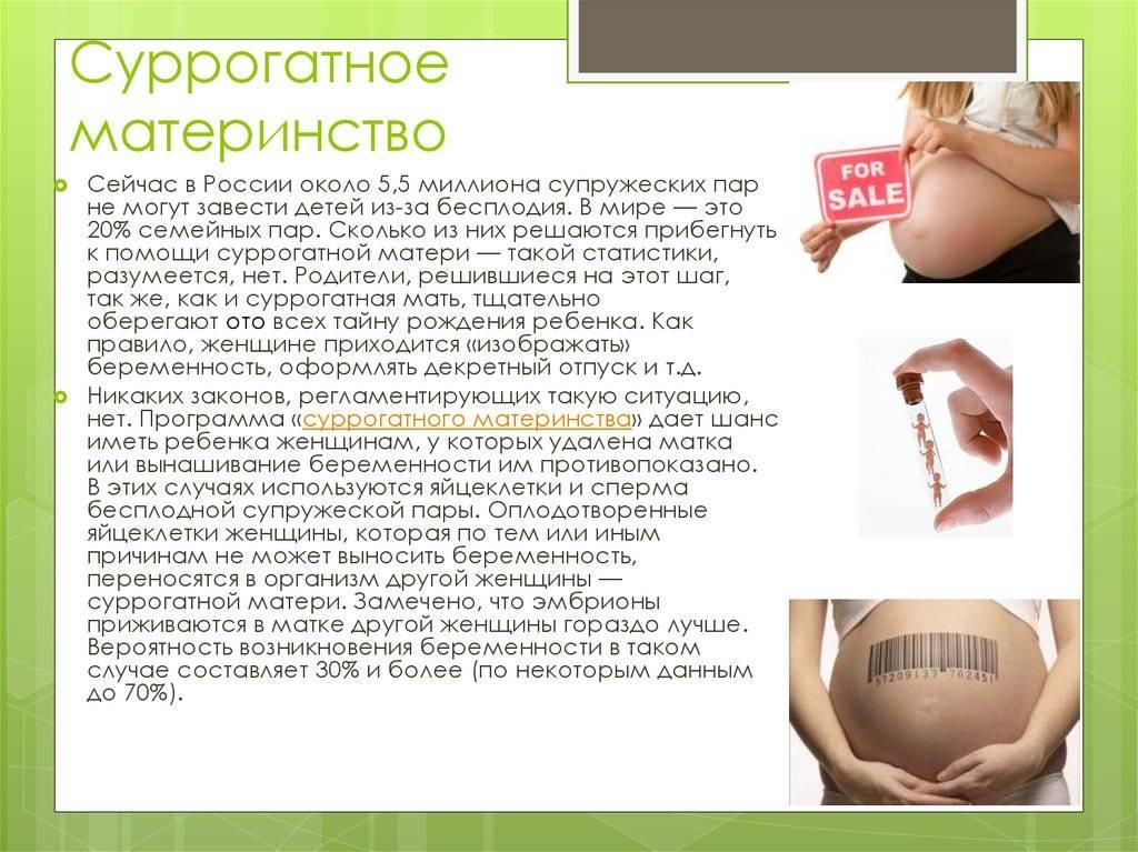Плюсы и минусы суррогатного материнства