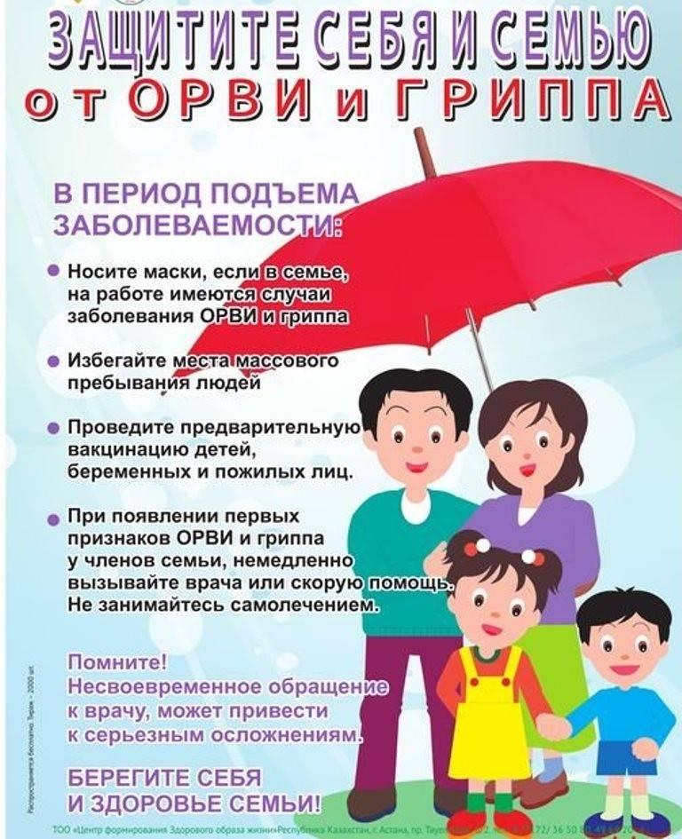Профилактика орви: адаптация к детскому саду и школе в период межсезонья  - причины, диагностика и лечение