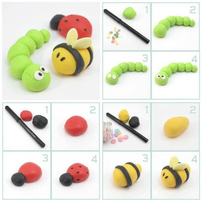 Лепим из пластилина с детьми: уроки лепки для малышей 2, 3, 4, 5, 6 лет