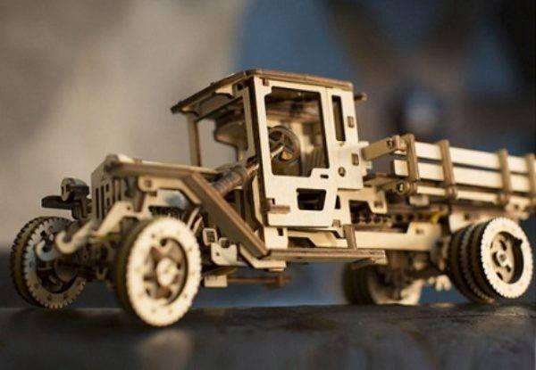 Конструктор ugears: выбираем деревянные 3d-пазлы, особенности механической модели «грузовик» из дерева