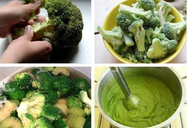 Как правильно варить цветную капусту для детского пюре для прикорма грудничку и сколько времени это займет?