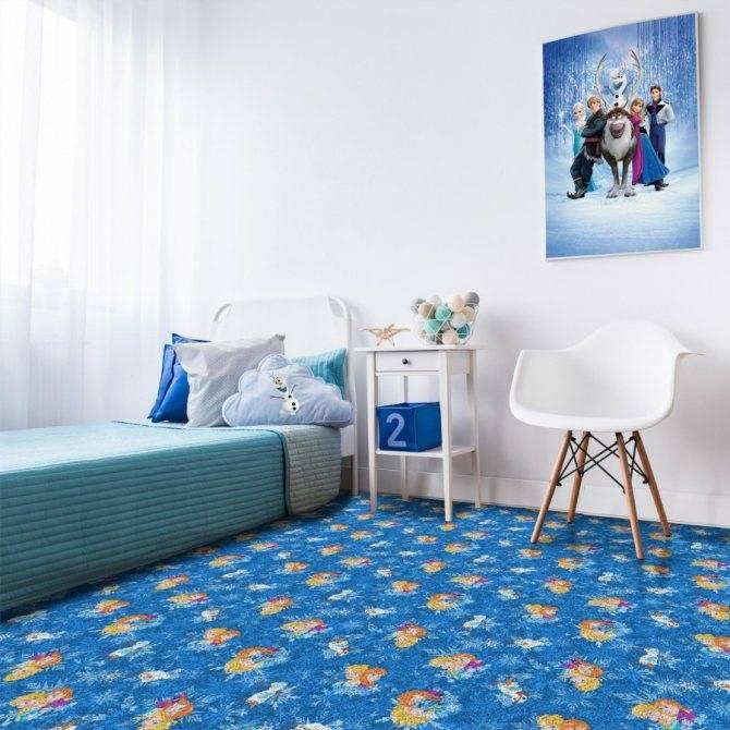 Детский ковролин - какой лучше выбрать в детскую комнату?