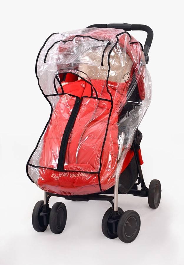 Дождевик на прогулочную коляску: как выбрать накидку