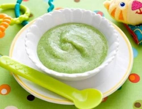 Пюре из брокколи для грудничка, рецепт приготовления
