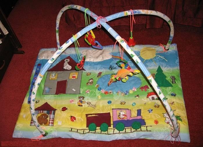 Коврик для новорожденных и младенцев, как сшить детские коврики