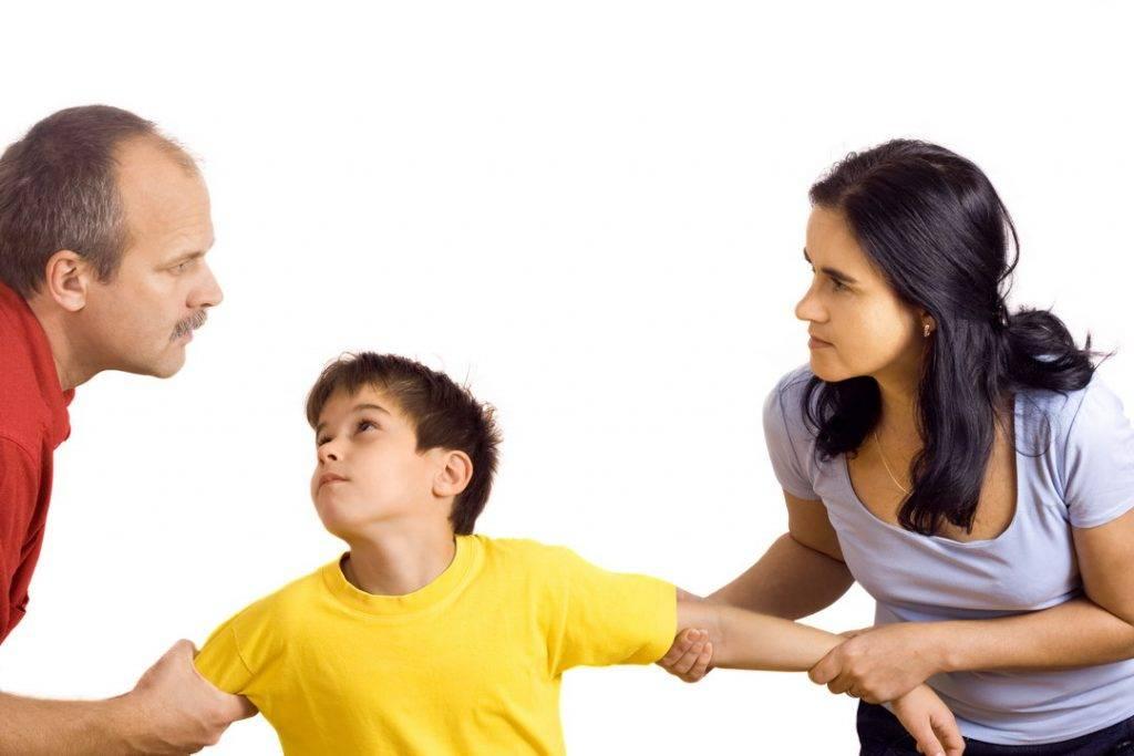 Разногласия в вопросах воспитания ребёнка - sonyaclub