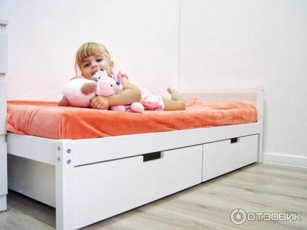 Детские кровати с ящиками для хранения
