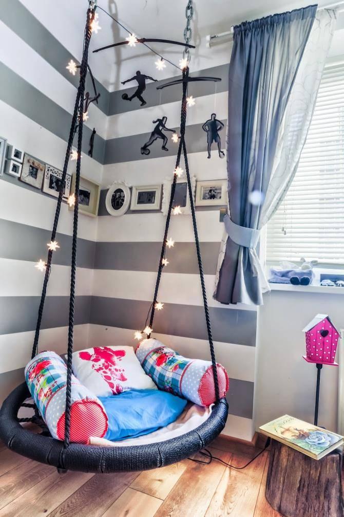 Какие детские подвесные  качели  лучше купить для дома  и дачи | детские товары