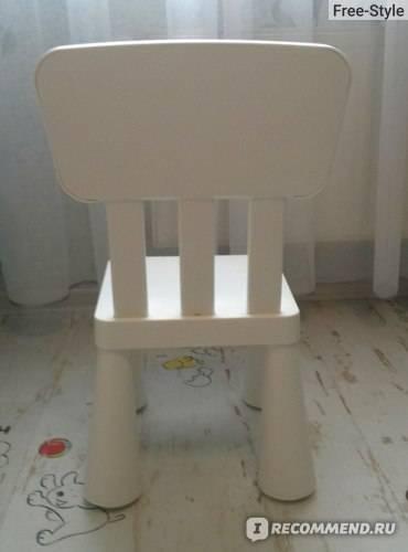 Детский стул ikea