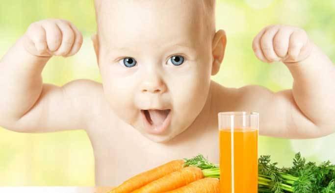 Морковный сок полезные свойства и противопоказания детям