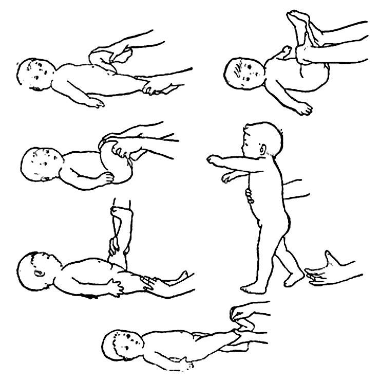 Массаж при косолапости у детей: упражнения для лечения косолапия, особенности лфк, гимнастика и массаж голени при врожденной форме