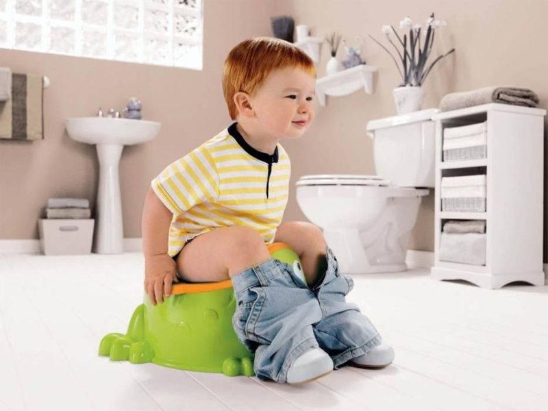 Ребенок не хочет садиться на горшок: причины боязни, решение