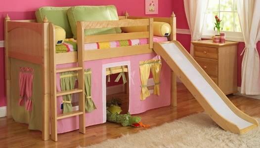 Кровать с горкой: обзор интересных моделей и стильных идей для детей всех возрастов (125 фото)