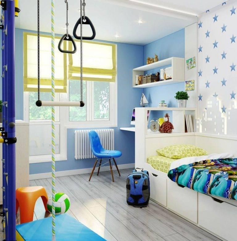 Обои в детскую комнату (70 реальных фото): подборка современных интерьеров