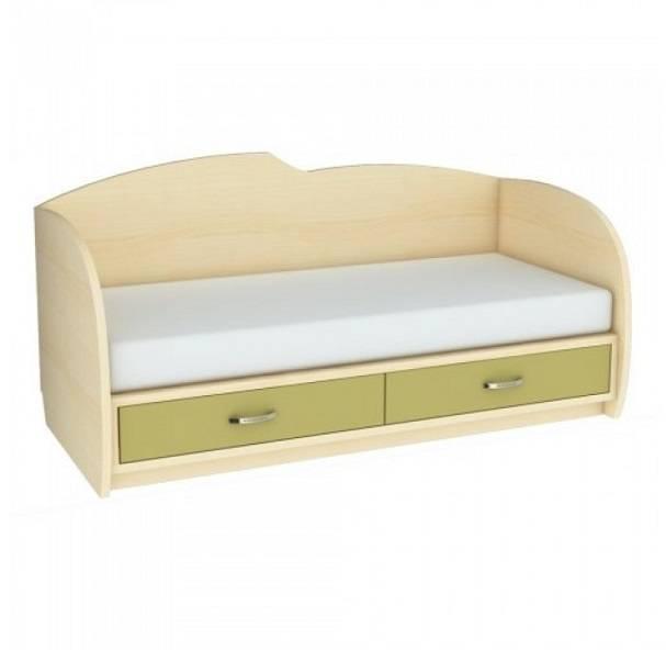 Детская кровать с ящиками и бортиком