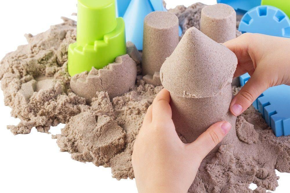 Живой или кинетический песок что лучше и чем отличается