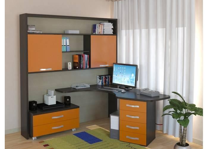 30 комнат с письменными столами для двоих детей