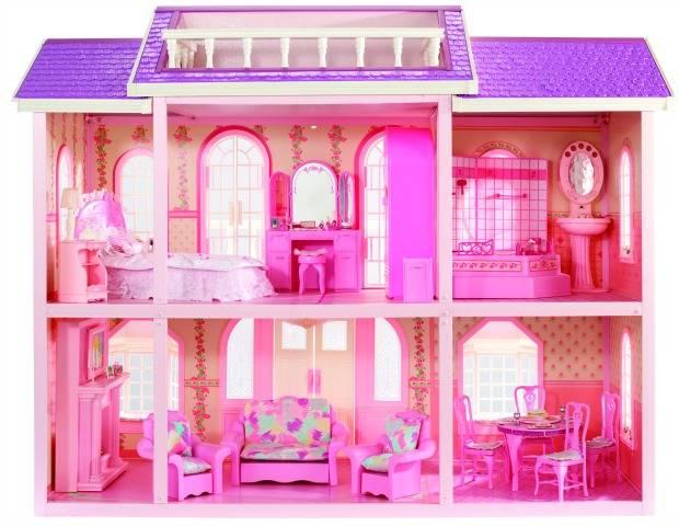 Новый дом мечты барби. самый большой дом для барби!