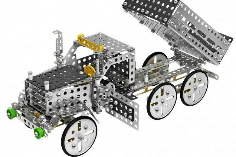 Модели из металлических конструкторов - мозгочины