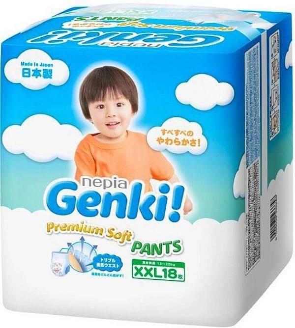 Обзор подгузников genki